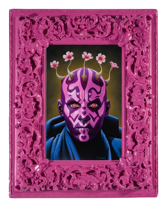 Doctor Ojiplatico.Scott Scheidly. Pink Series
