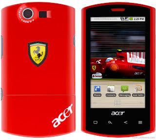 Acer Liquid E Ferrari 2011