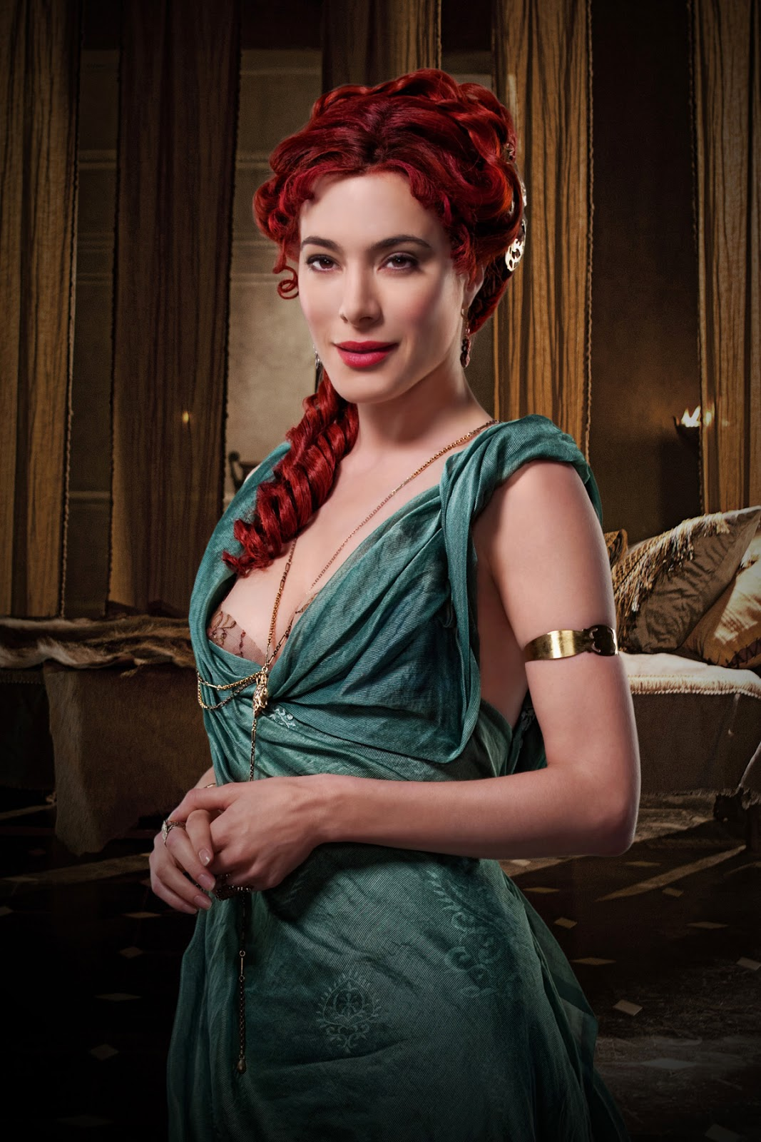 Spartacus Gods Of The Arena Jaime Murray Gaia Poster