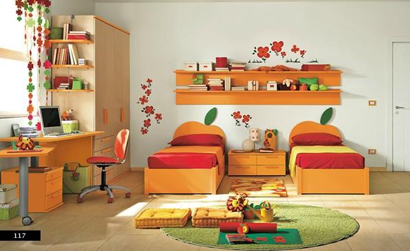 inovasi desain interior untuk kamar tidur anak perempuan
