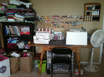 My sewing/craft area