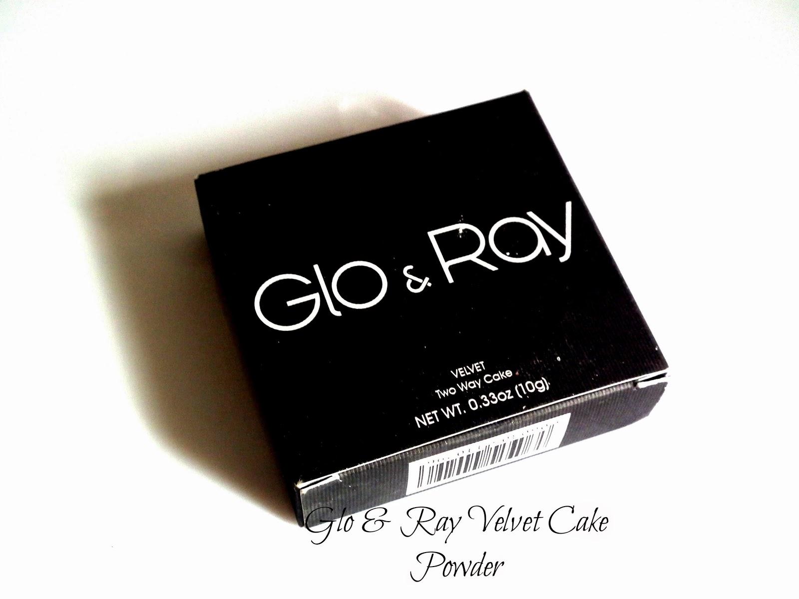 Glo & Ray Velvet Cake Powder