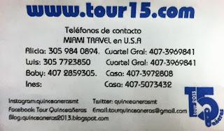 Contacto durante el tour