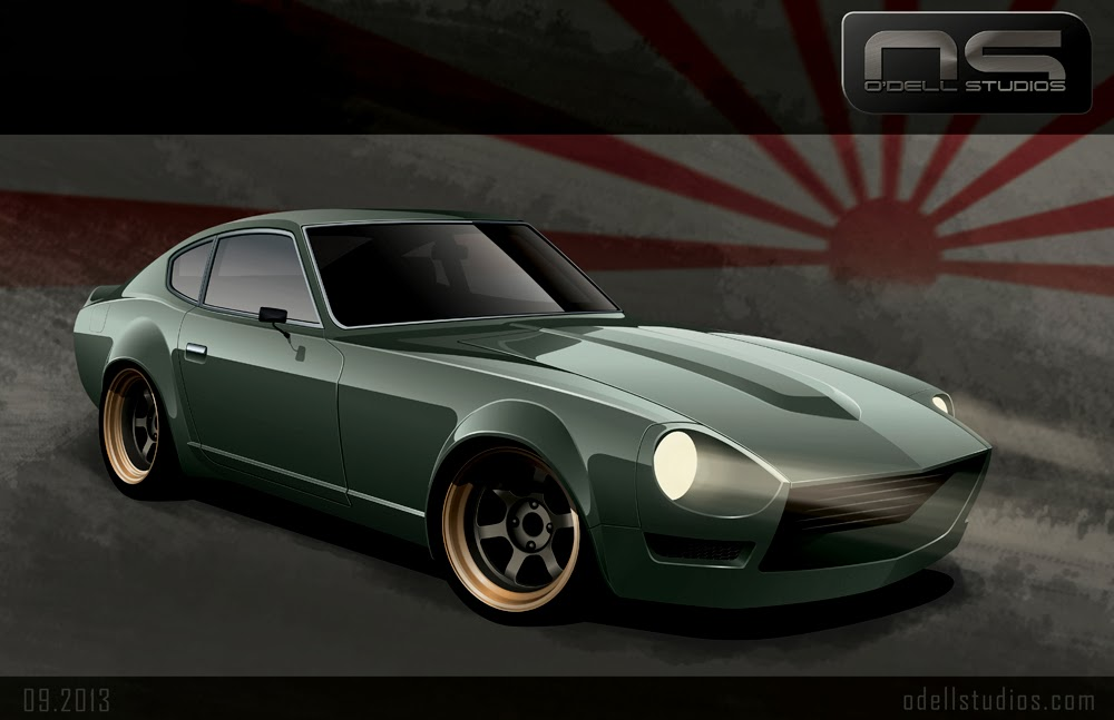 240z nissan datsun custom racing track ready