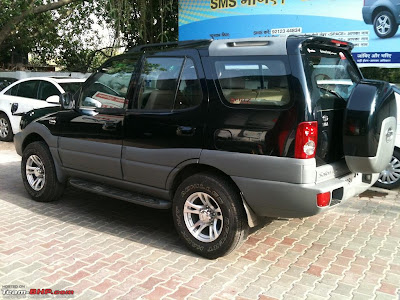 Tata Safari Black Car