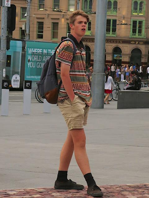 Melbourne street fashion men style