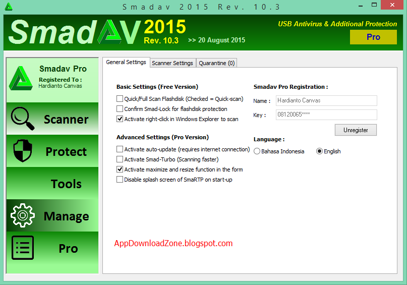 Smadav 10 3 With Serial Key Full Version Free Download App