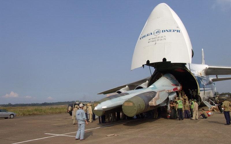 Nga giao máy bay SU30MK2 cho Không quân Việt Nam
