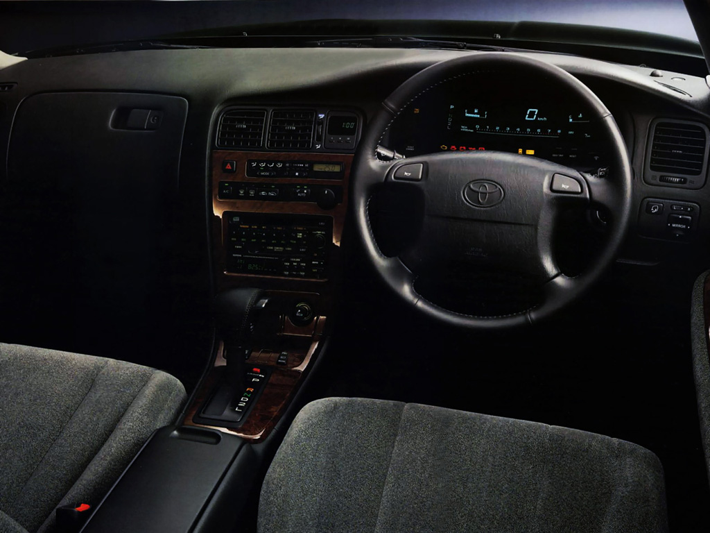 Toyota Chaser X90, tuning, drifting, RWD, zdjęcia, JDM, napęd na tył, japoński sportowy sedan, 日本車, チューニングカー, トヨタ wnętrze, interior