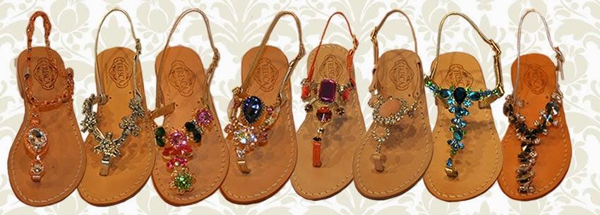 Custom Tresca Italia Sandals
