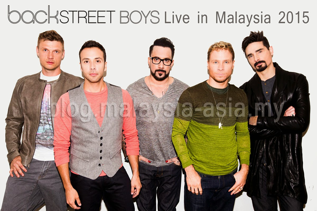 Backstreet Boys KL Malaysia Concert 2015