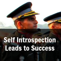 Self Introspection Leads to Success