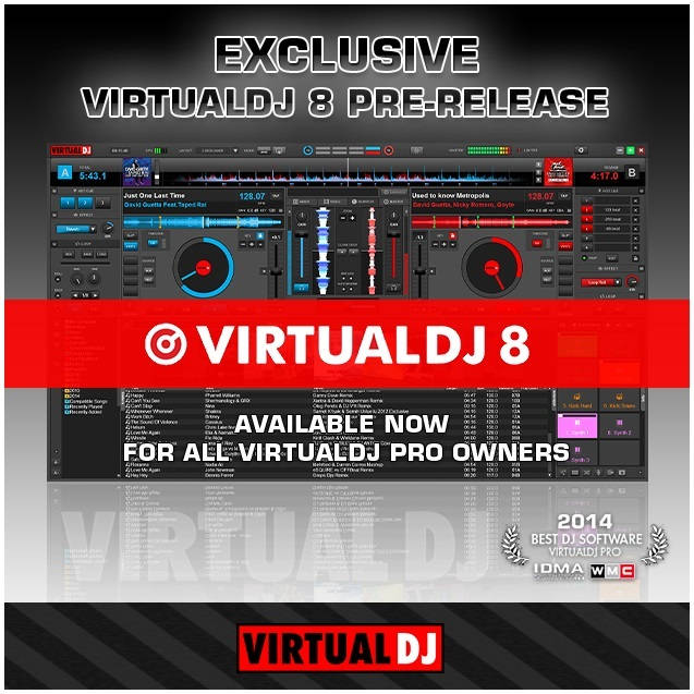 VirtualDJ is the hottest AUDIO and VIDEO mixing software, targeting D.
