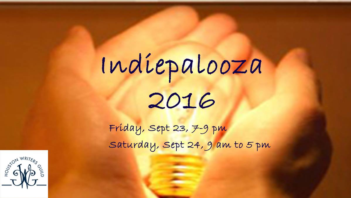 Houston Writers Guild Indiepalooza