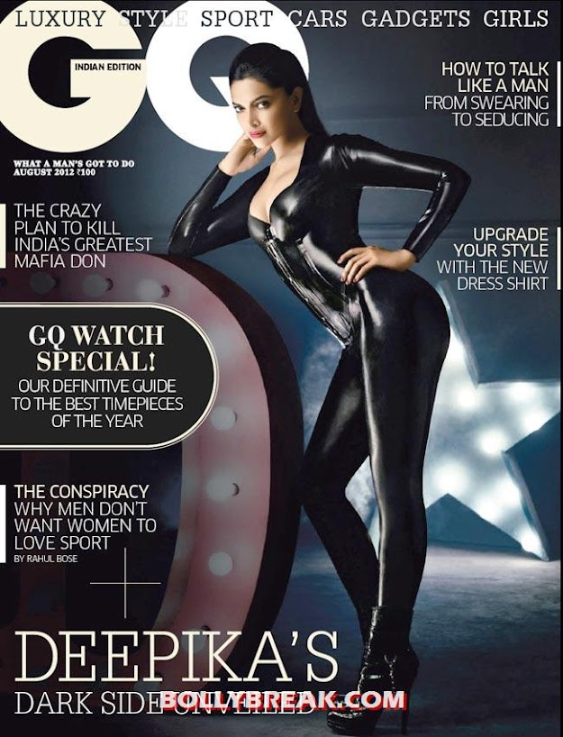  -  Deepika Padukone GQ Magazine - Catwoman Pics in hQ