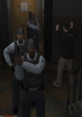 Skin Polícia Militar Para GTA IV