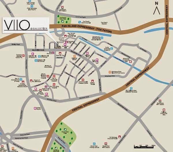Viio Location Map