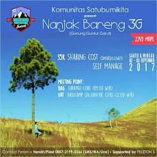 Event Sabuki : Pendakian Gunung Guntur Garut, 2-3 September2017