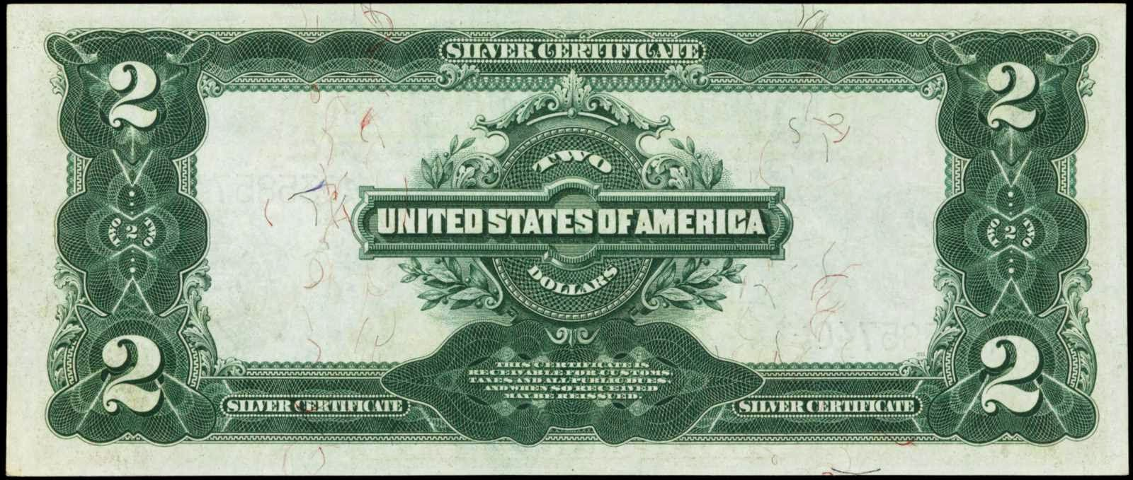1899 two dollar silver certificateworld banknotes coins 1899 2 silver certificate xflitez Choice Image