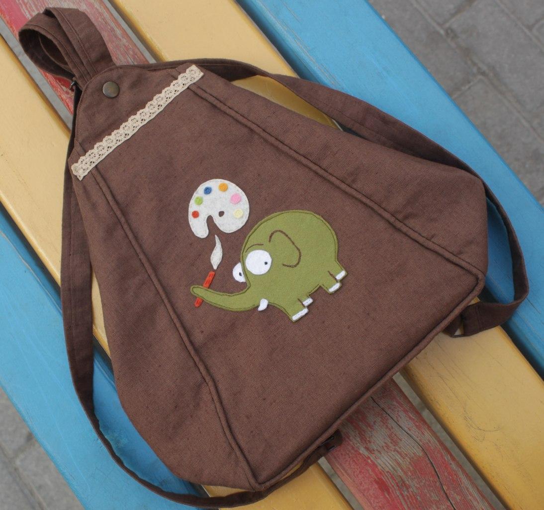 Рюкзак для мамы своими руками 30