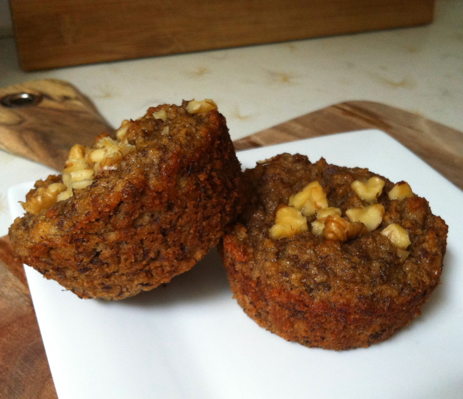 Banana Muffins (gluten-free, grain-free) @ Southern Spoon Blog