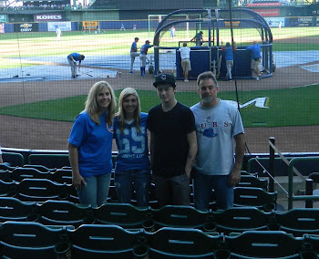 The family (Jennifer, Danielle, Kristofer & Loren)