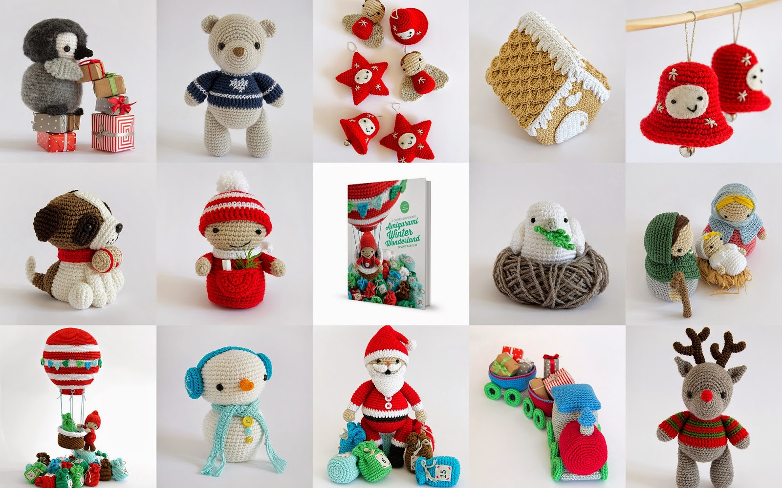 Amigurumi Winter Wonderland Free : Amigurumi Winter Wonderland bij Bol.com