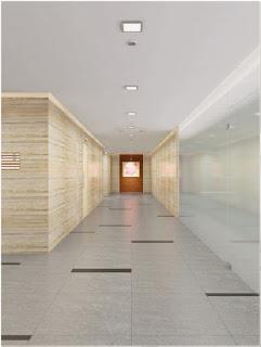 hành lang thang Văn Phòng - Pearl Plaza