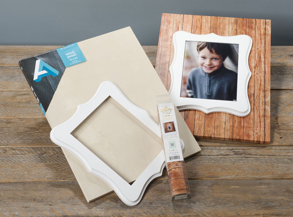 Going with the Grain Wood Board @craftsavvy @sarahowens @hazelandruby #craftwarehouse #frame #washitape #hazelandruby