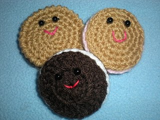 PARTICIPO EN EL RETO 3!! AMIGURUMI GALLETA