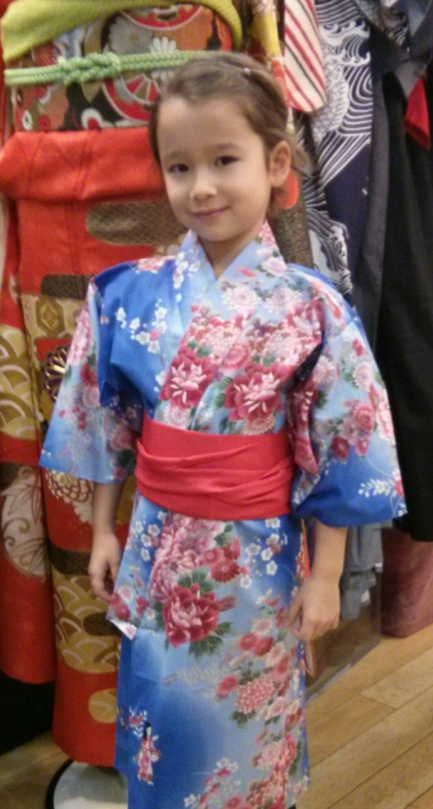 Child kimono for little girl