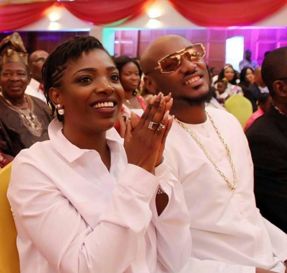 Annie And 2face Idibia Looks Adorable In New Photo