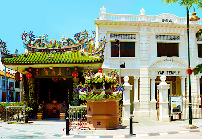 fascinating Chinese Yap Temple in Georgetown