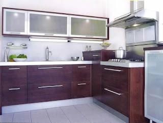 dark brown kitchen cabinets images