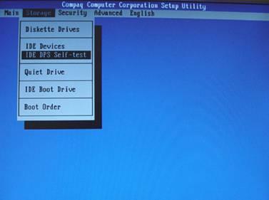 BIOS HP Compaq