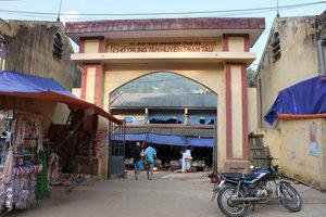 Trạm Tấu market in Trạm Tấu town