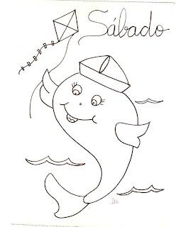 peixe com chapeu de marinheiro