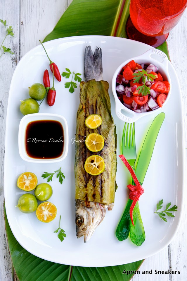 ... Traveling in Italy and Beyond: Grilled Fish Wrapped With Banana Leaves