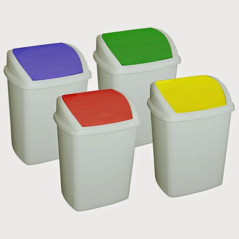 Plastic Swing Top Bins Design