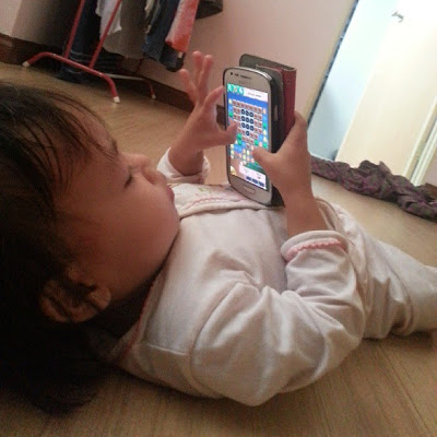 zafirah dan candy crush