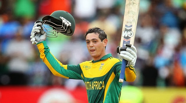 Words Celebrities Wallpapers: Quinton De Kock Against ... Quinton De Kock 2013