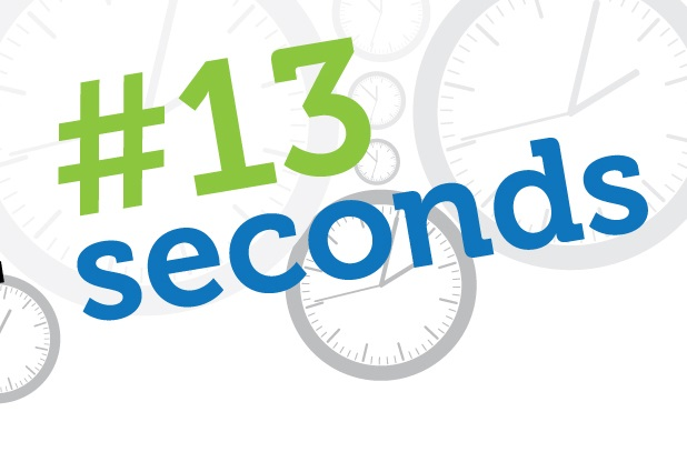 13 Things We Can Do In 13 Seconds