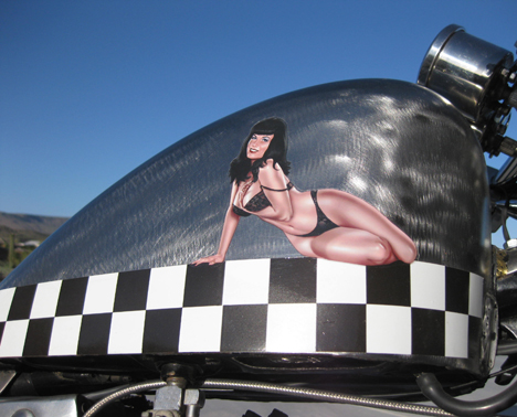 free the wheels     Nose Art