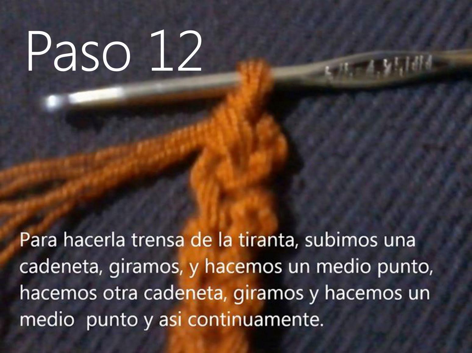 Bolso Naranja Paso 12
