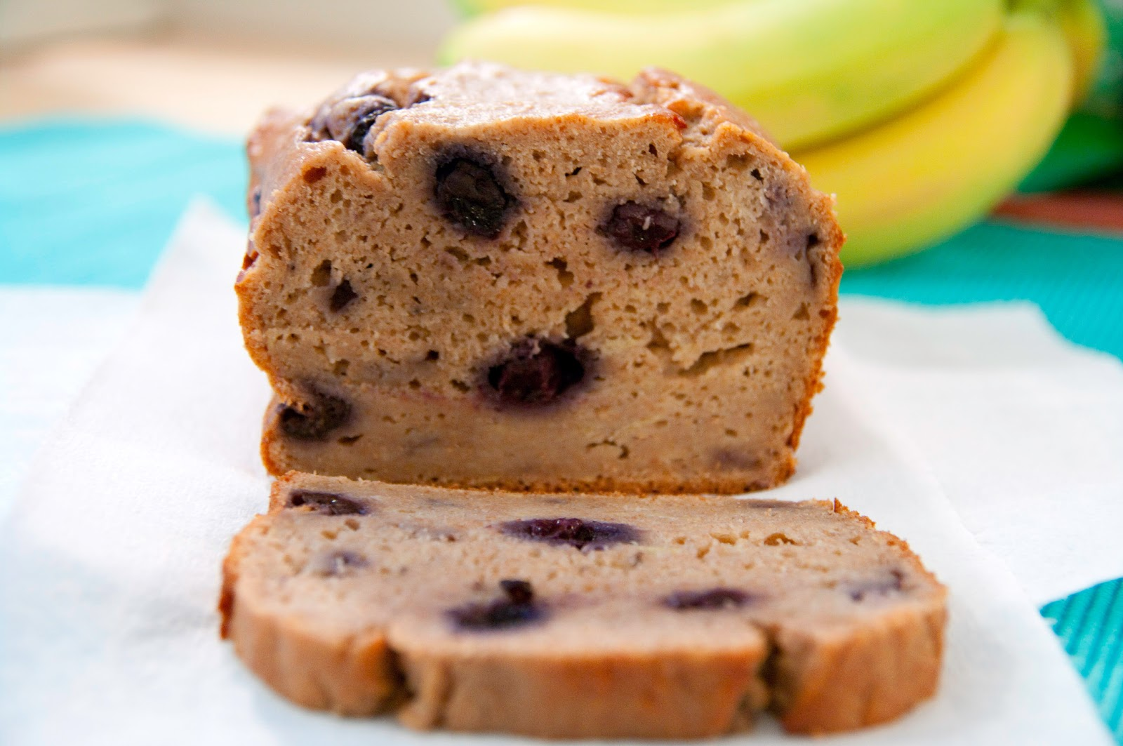 Blog About Food: Greek Yogurt Blueberry Banana Bread