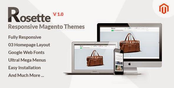 Rosette - Responsive Multipurpose Magento theme