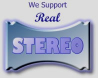 We Support Real Stereo