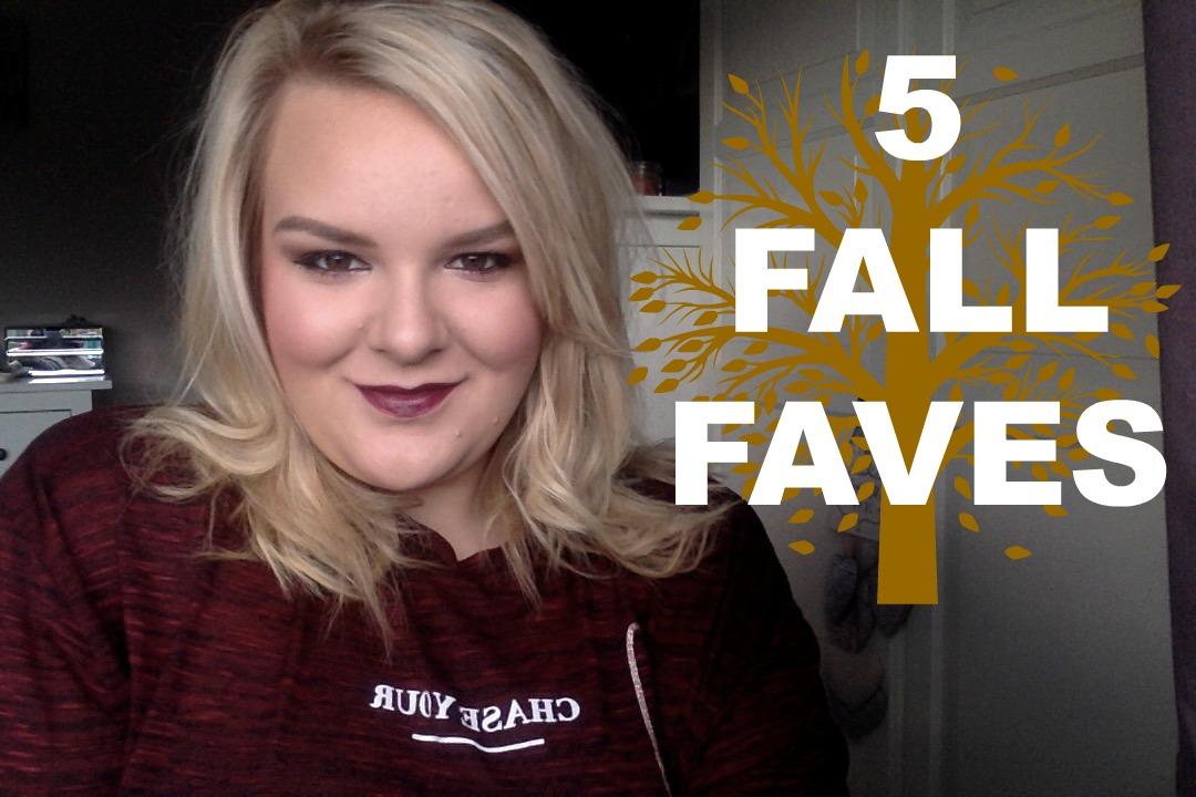 5 Fall/Autumn Fashion and Beauty Favourites
