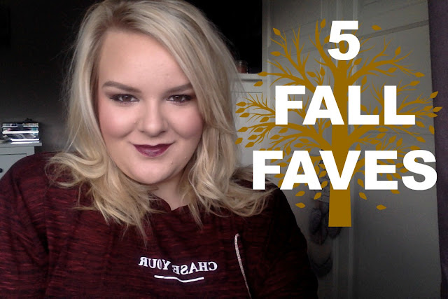 5 Fall/Autumn Fashion and Beauty Favourites