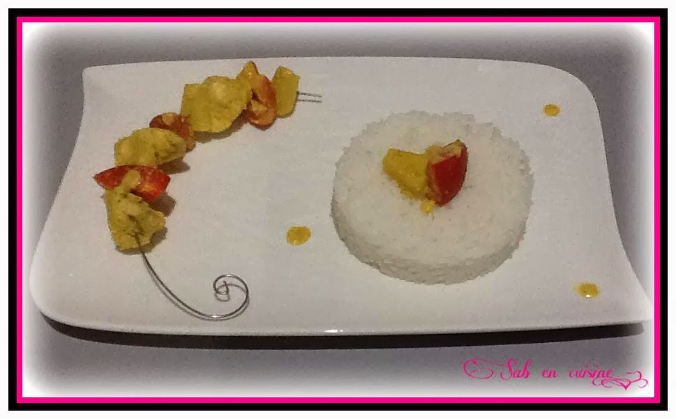 Sab en cuisine recettes faciles poulet l 39 ananas for En cuisine avec coco